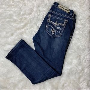 Rock Revival Jeans - Rock Revival Iselin Easy Ankle Skinny Jeans